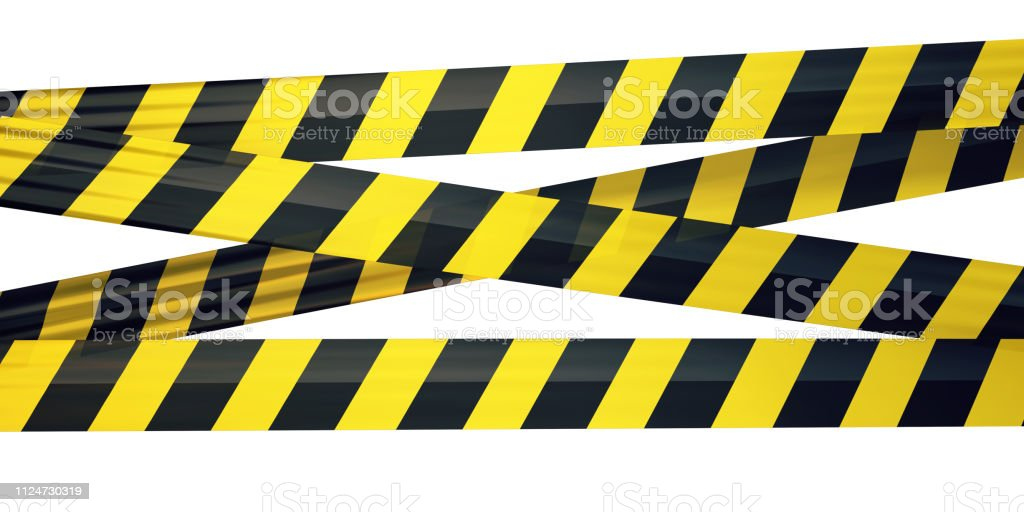 Strip Tape - Royalty-free Amarelo Foto de stock