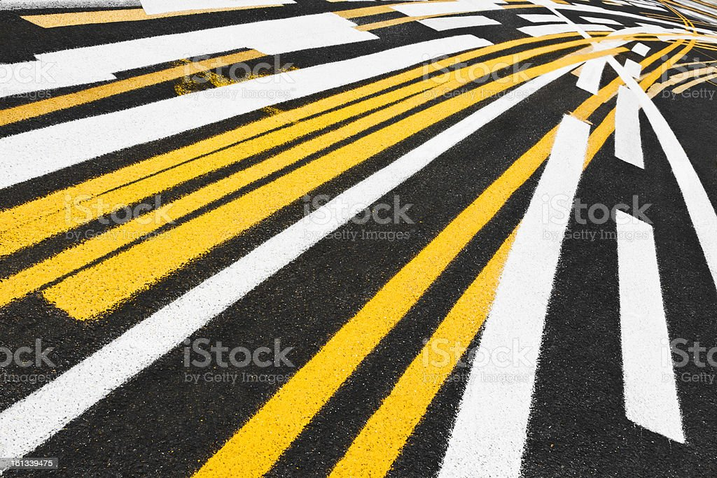 Stripe Test Tilted royalty-free stock photo
