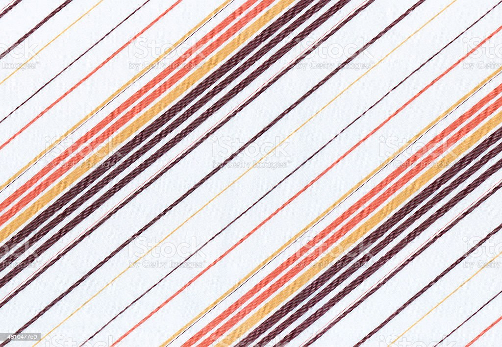 striped fabric background with diagonal stripes stock photo