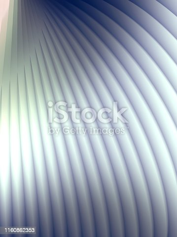 926309124istockphoto Striped futuristic pattern surrounded by blue mist. Computer generated geometric shape. 3d render illustration 1160862353