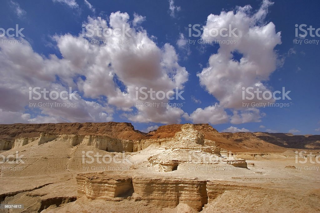 Striped hills. royalty-free stock photo