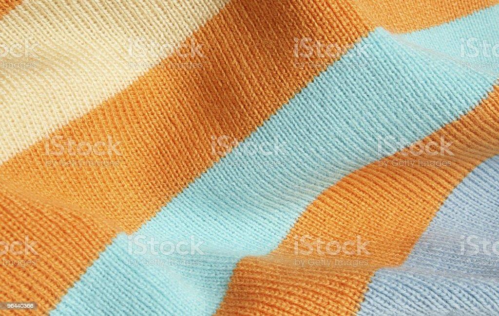 Listrado em tecido de tricô - Foto de stock de Abstrato royalty-free