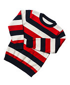 istock Striped knitted sweater 1054910476