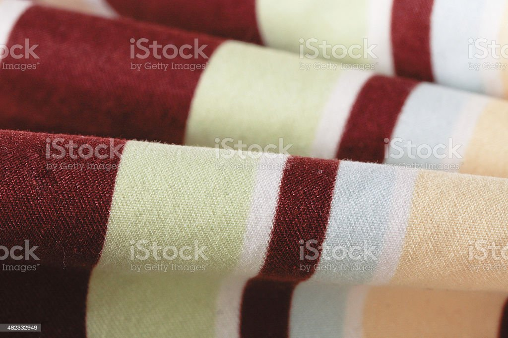 Striped material stock photo