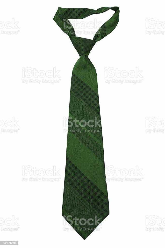 striped necktie royalty-free stock photo