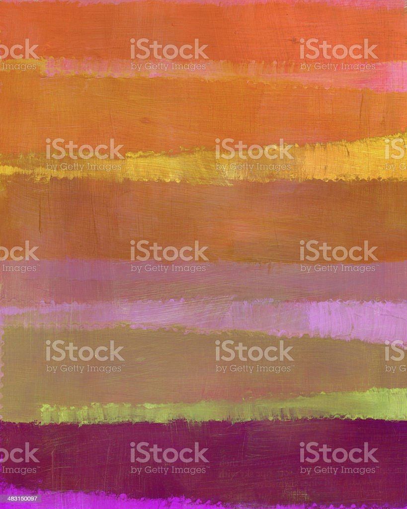 Striped Painted Artwork royalty-free stock photo