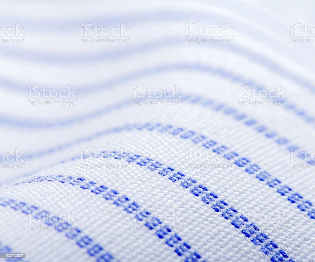 Striped pattern fabric royalty-free stock photo