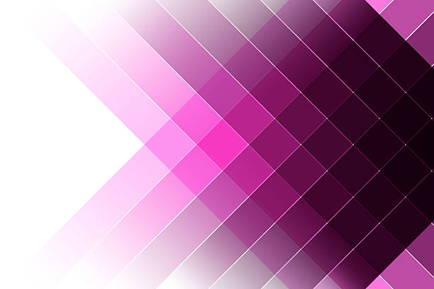 striped pink and violet background stock photo