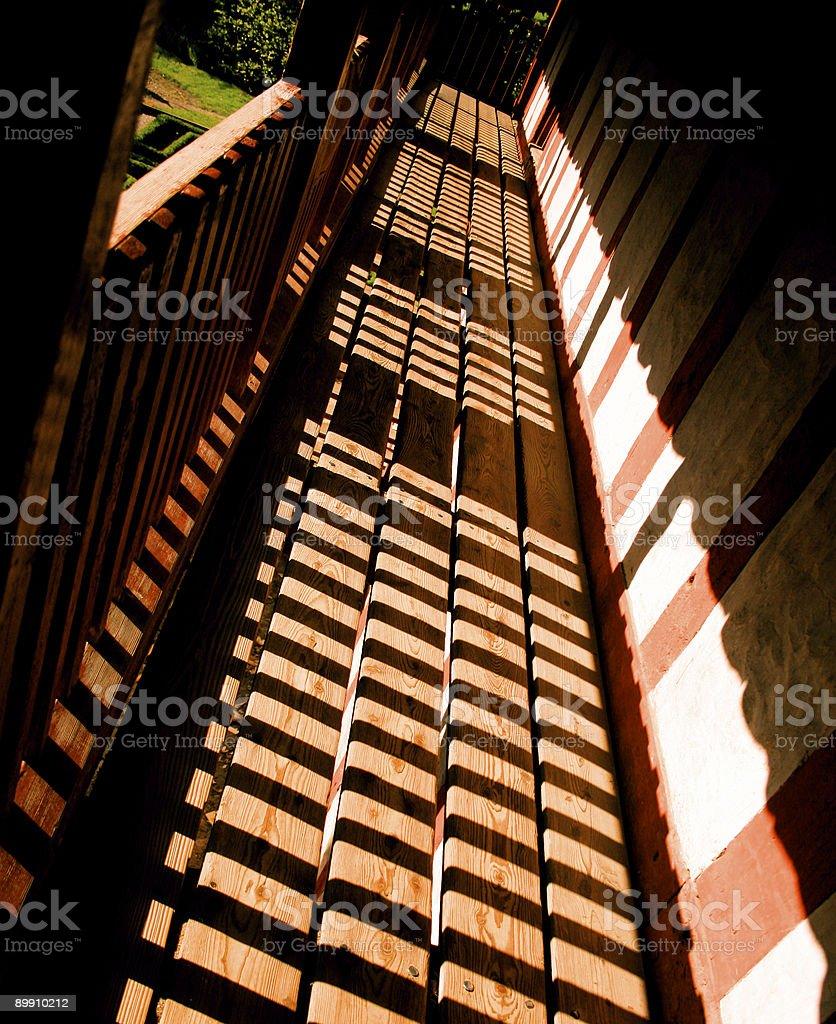 striped shades royalty-free stock photo