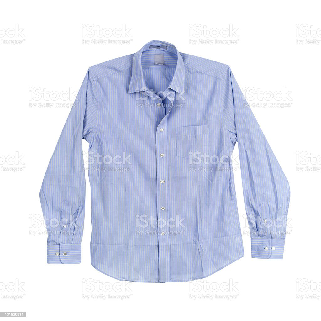 Striped shirts stock photo