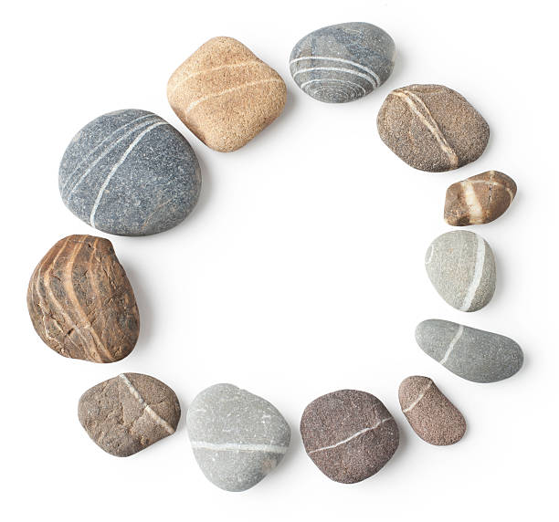 Gestreifte stone circle – Foto