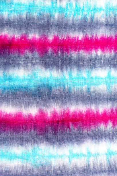 dbd78aeef8e1 striped tie dye pattern background. stock photo · Colorful tie dyed fabric  ...
