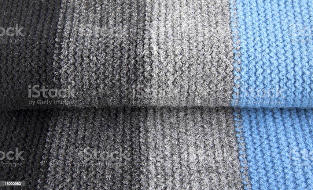 스트라이프드 woolen 섬유 royalty-free 스톡 사진
