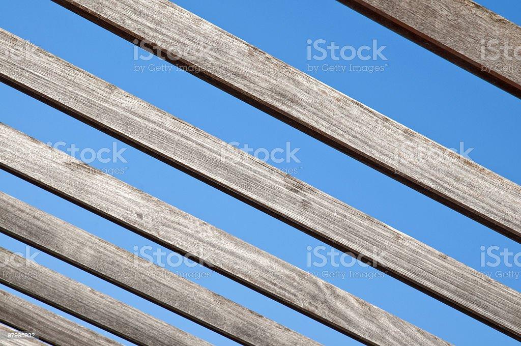 stripes of sky royalty-free stock photo