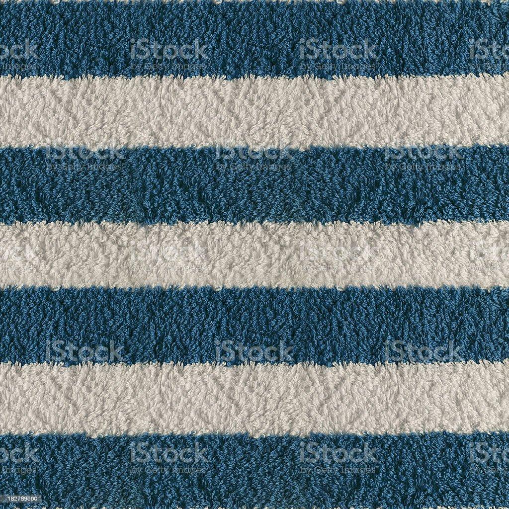 Stripes Towel Texture royalty-free stock photo