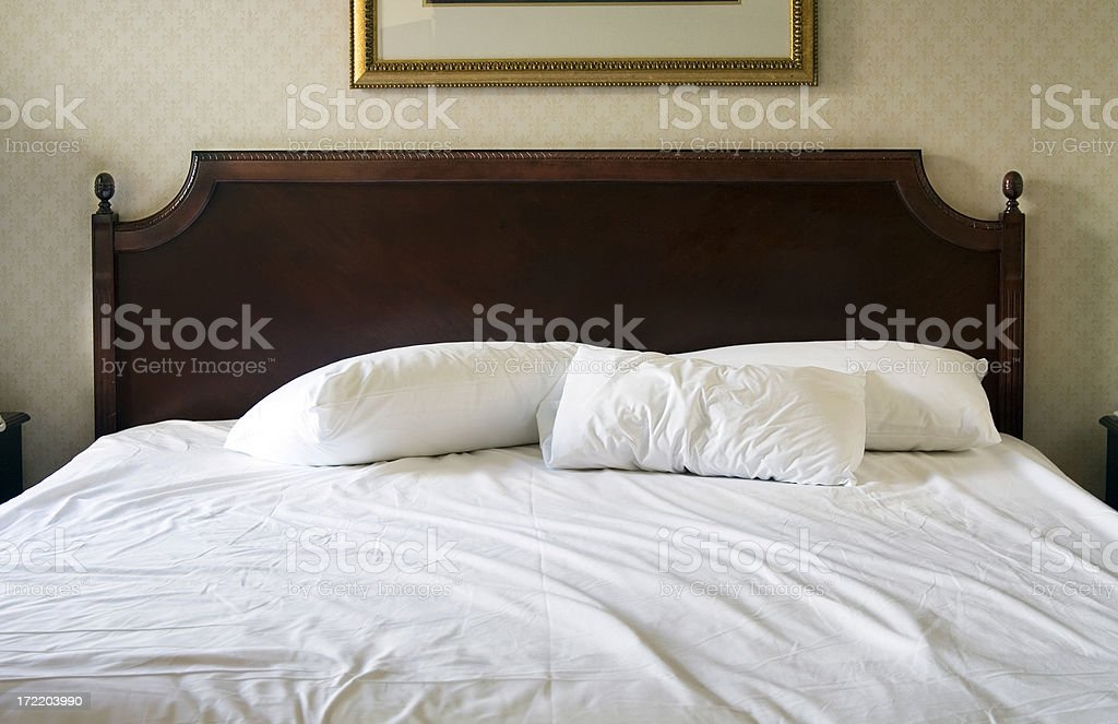 Stripping the Bed royalty-free stock photo