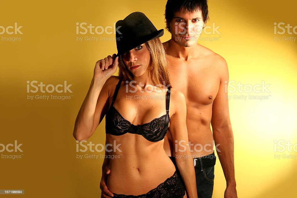 Striptease royalty-free stock photo