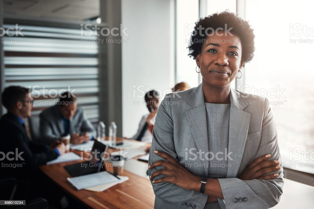 I strive to lead by example stock photo