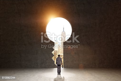 istock Striving for a bright future 510562244