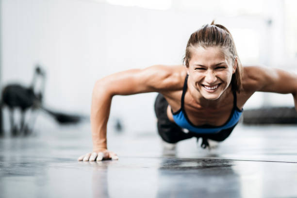 Best Push Ups Stock Photos, Pictures & Royalty-Free Images