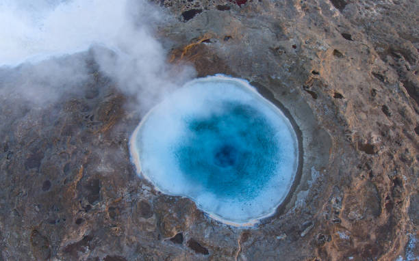 Strokkur Geysir, Iceland stock photo
