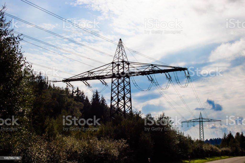 Strom und Energie stock photo