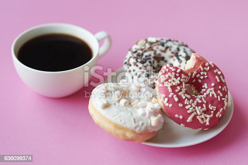 istock Strong and black coffee best way to wake you up 636099374