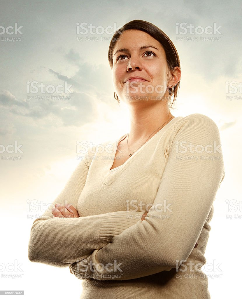 Strong and Proud Women royalty-free stock photo