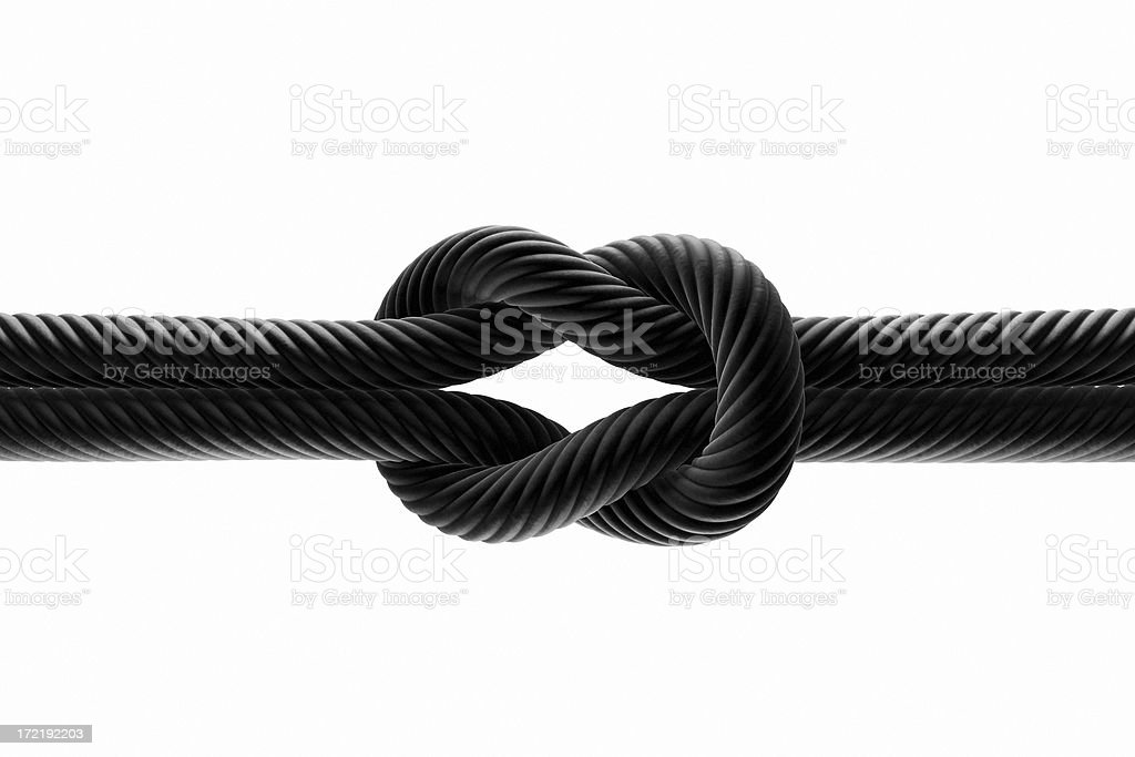 Strong Bond 1 b/w - Royalty-free Attached Stock Photo