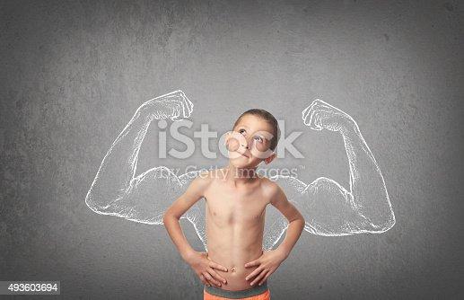 istock Strong Boy 493603694
