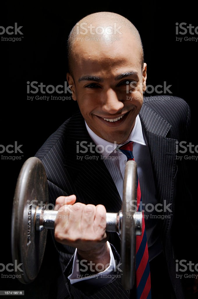 Strong Business royalty-free stock photo