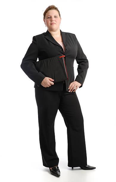 Starke business Frau – Foto