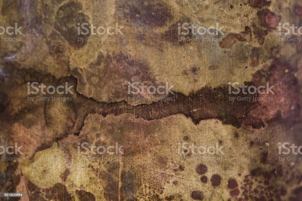 Strong corrosion stock photo