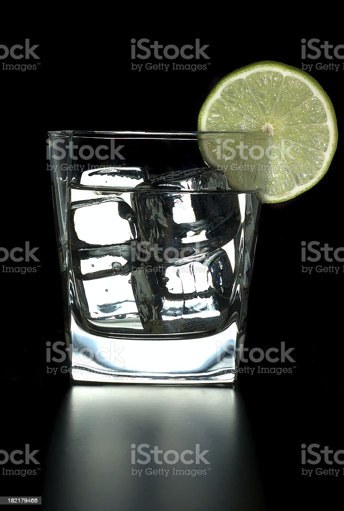 Strong drink royalty-free stock photo
