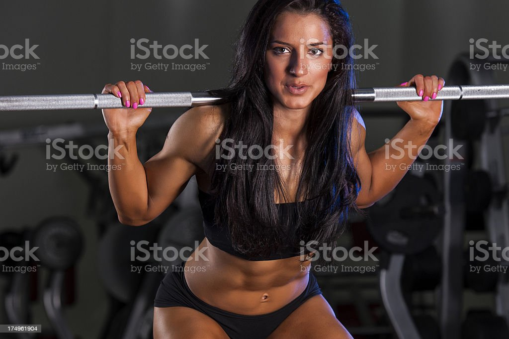 Strong is Beautiful royalty-free stock photo