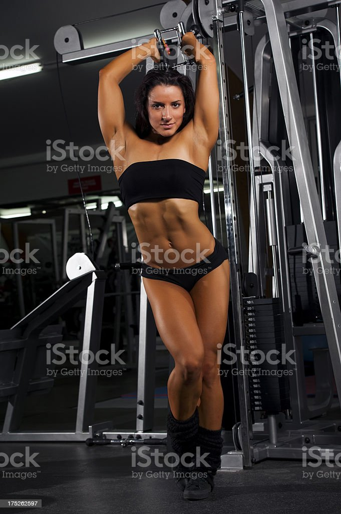 Strong Is Sexy royalty-free stock photo