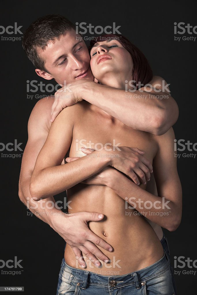 Strong Love royalty-free stock photo