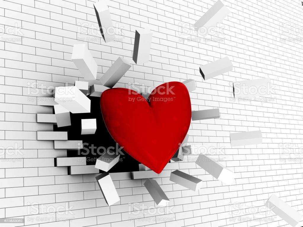 strong amour photo libre de droits