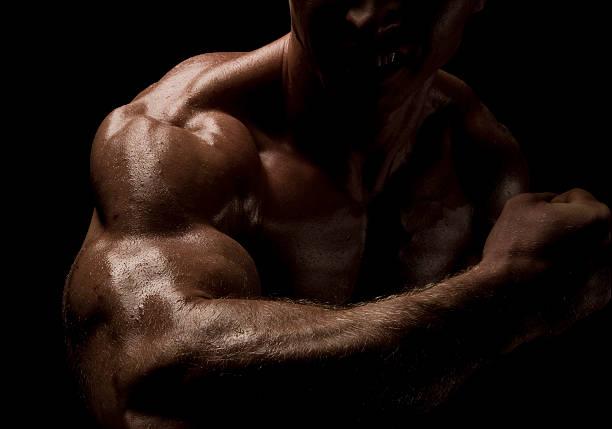 Männliche Bizeps Muskel – Foto