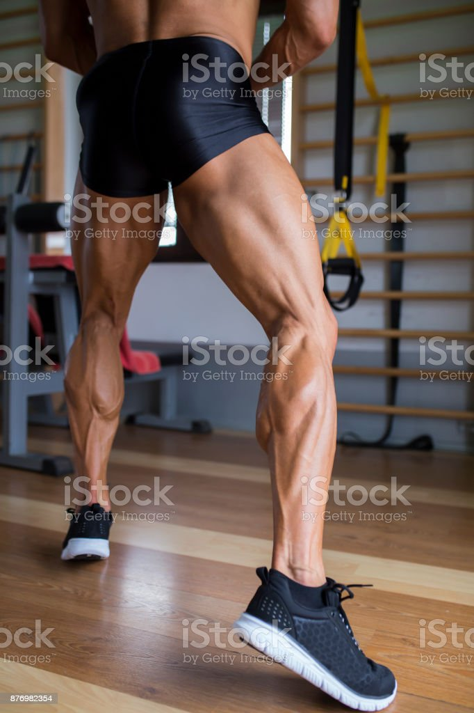 Strong Male Legs Stock Photo - Download Image Now - iStock