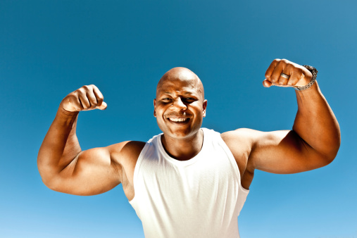 Strong Man Stock Photo - Download Image Now