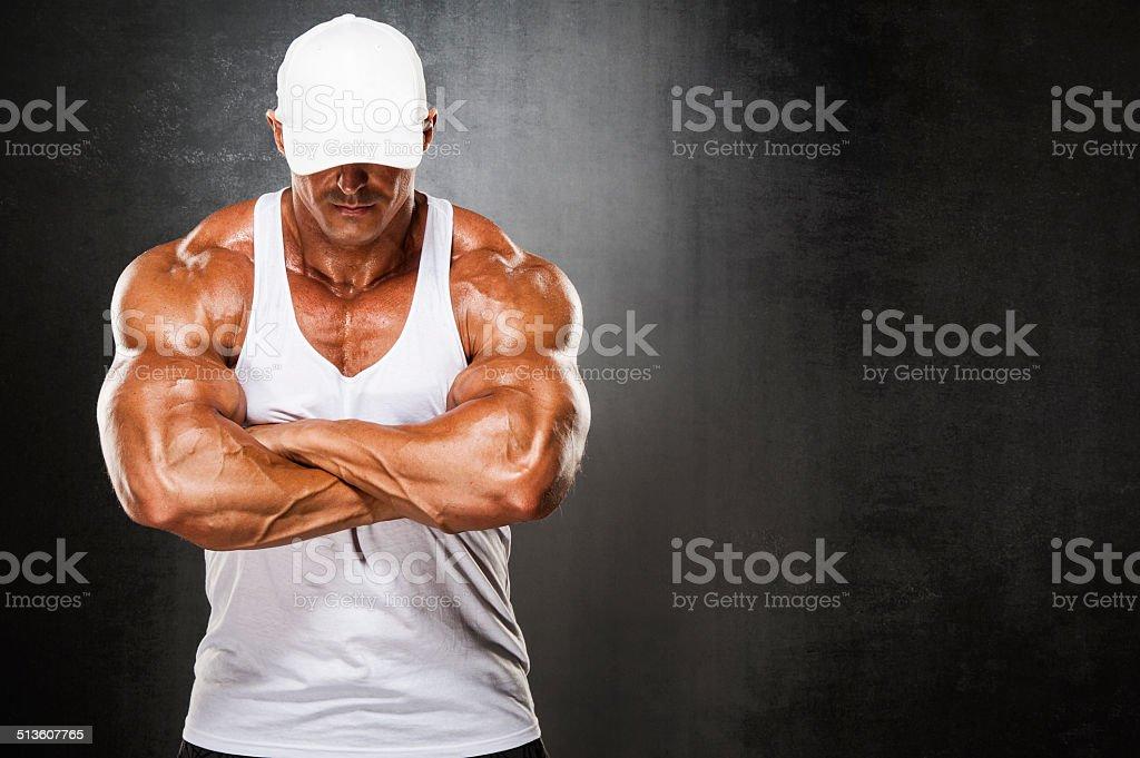 Strong Man stock photo