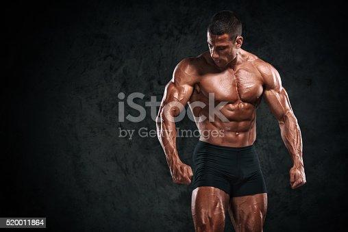 618209684 istock photo Strong Muscular Men 520011864
