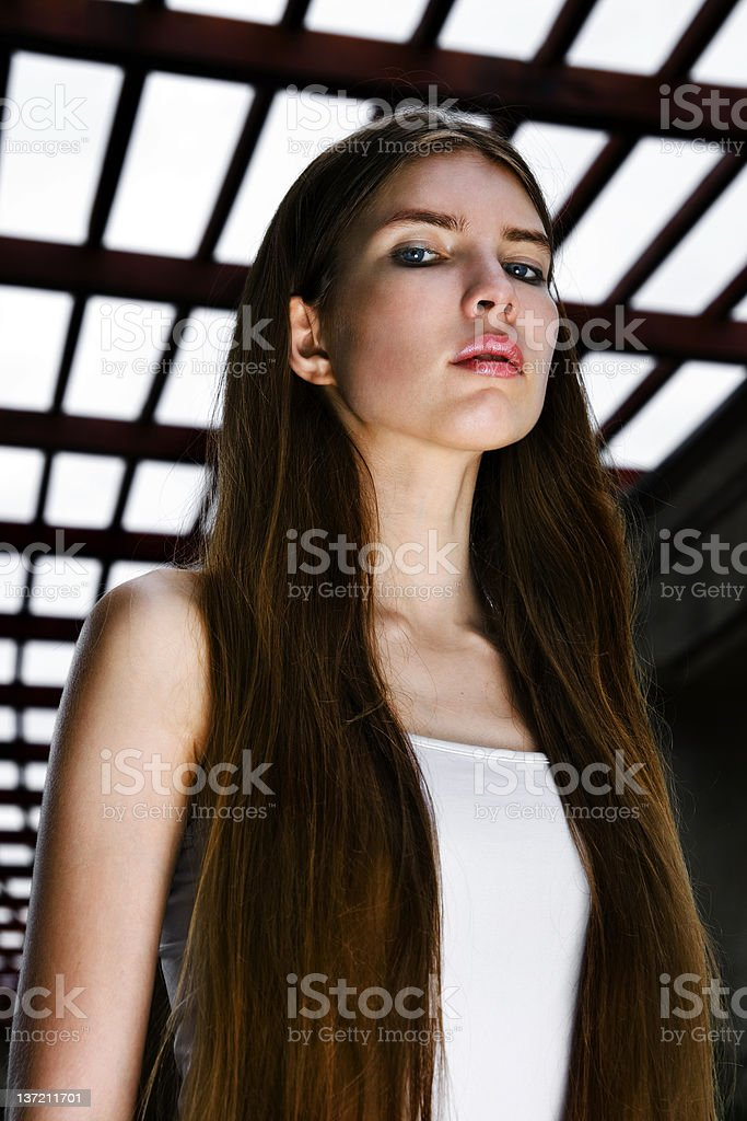 Strong stock photo