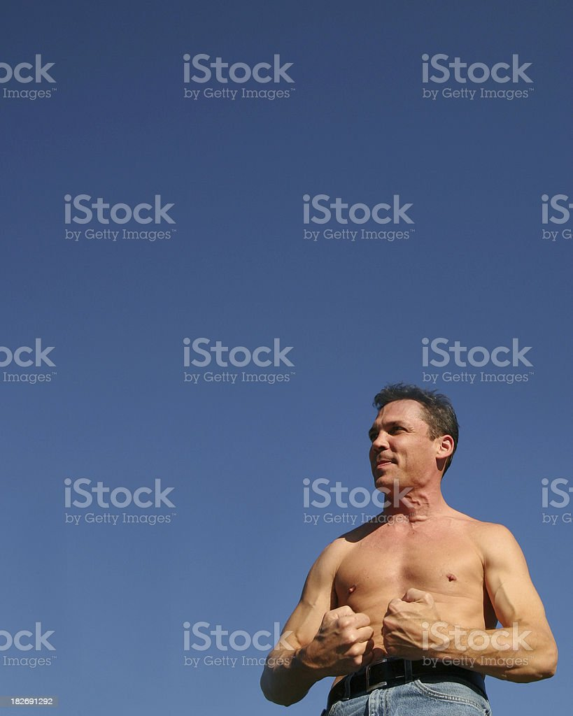 Strong royalty-free stock photo