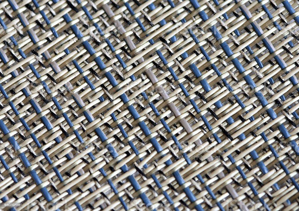 Strong roller blind weave