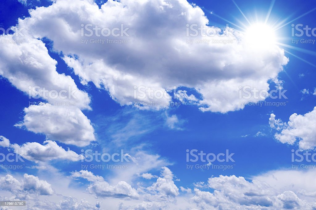 Strong sun royalty-free stock photo