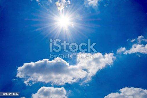 istock Strong sun 486359037