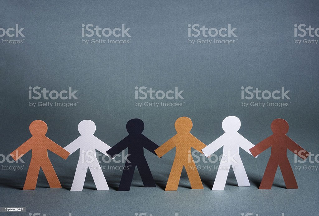 Strong together! royalty-free stock photo