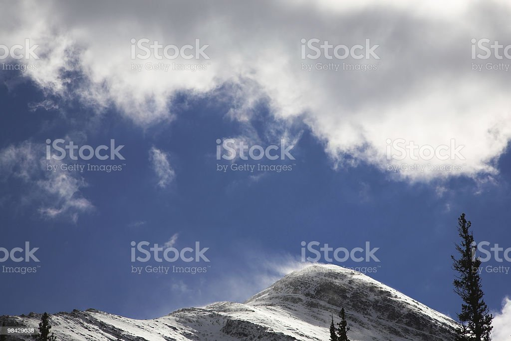 Strong wind royalty-free stock photo